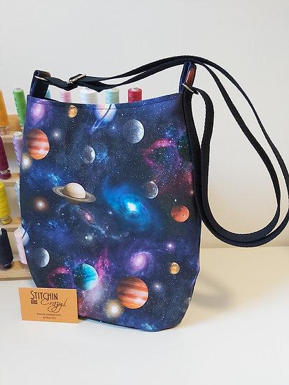 Planet Themed Cross Body Bag