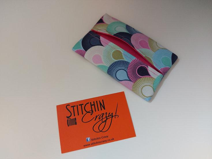 Multi Deco Fan Print Tissue Pouch