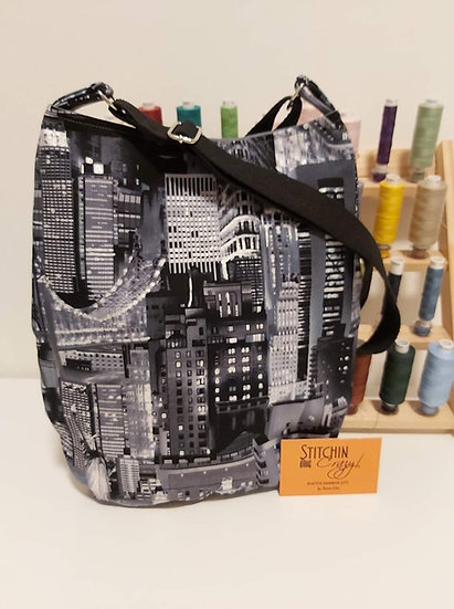 City Themed Cross Body Bag