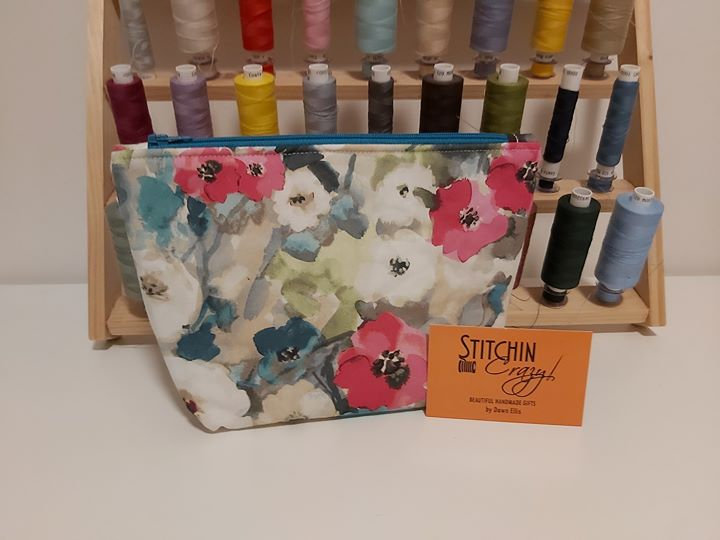 Multi Floral Make Up Bag