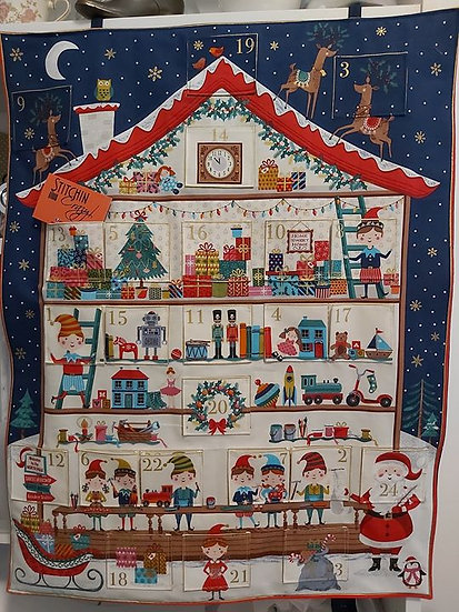 Santa's Elves Advent Calender