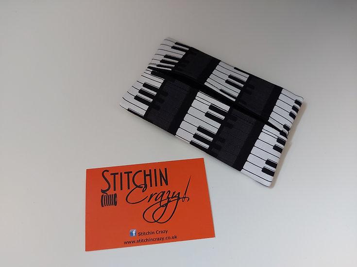 Piano Keys Print Tissue Pouch