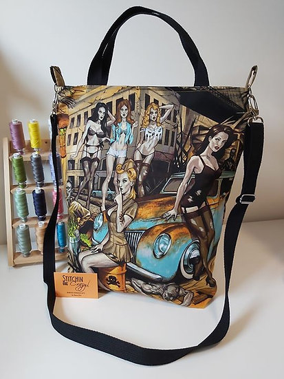 Georgia Carry All Tote - Zombie Ladies