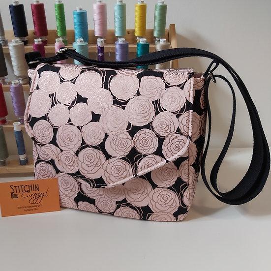 Rose Print Cross Body Bag