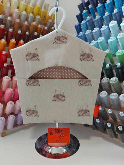 Hedgehog Peg Bag