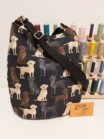 Labrador Cross Body Bag