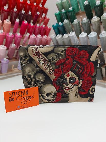 Tattoo Ladies Make Up Bag