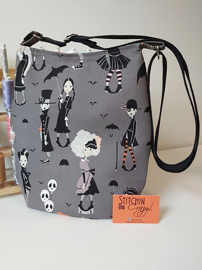 Goth Kids Cross body Bag