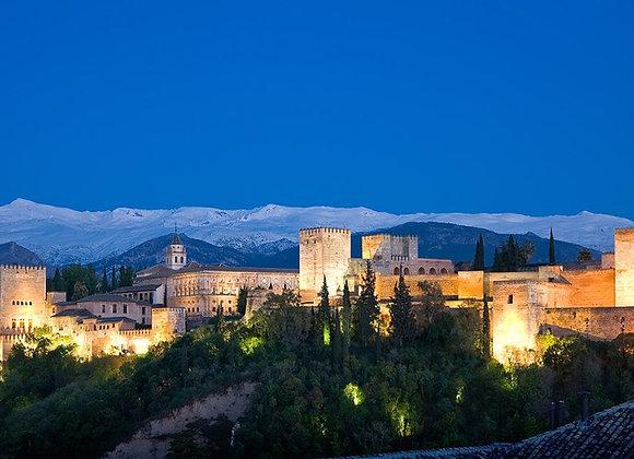 Granada y Alhambra en Puente de Febrero