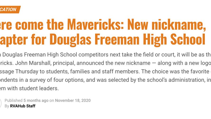 Here come the Mavericks