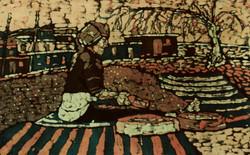 Harvest Time - Batik