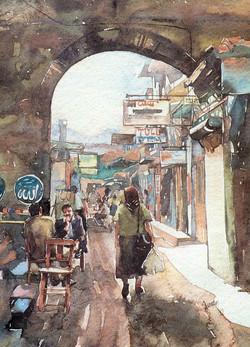 Izmir, Hisar entrance