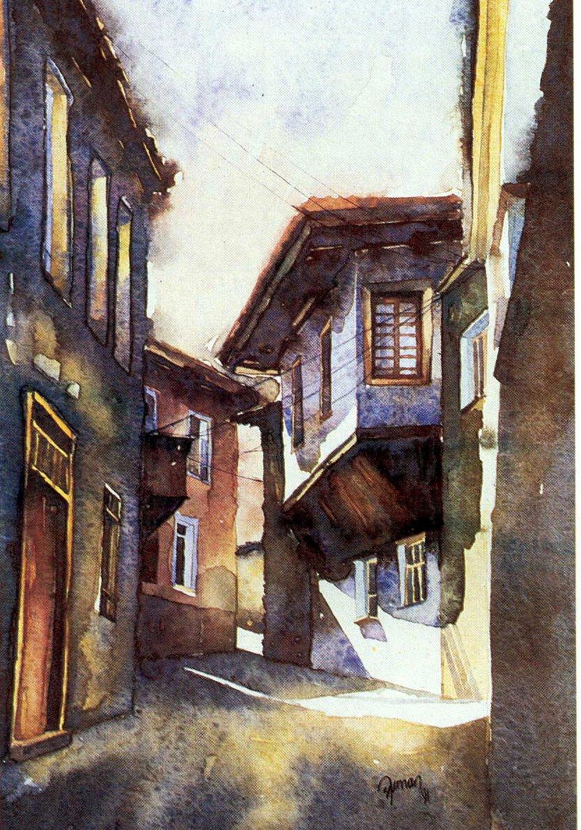 Street in Kula
