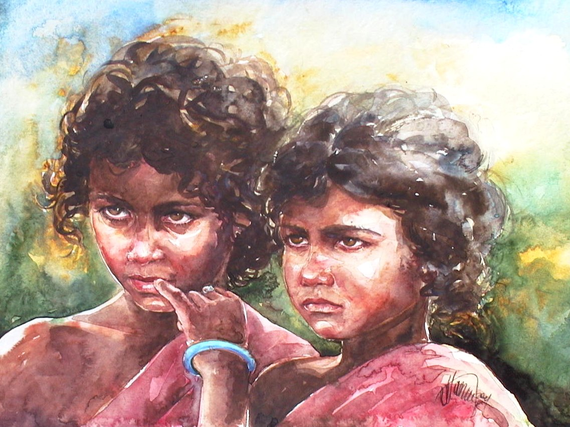 Sisters from India