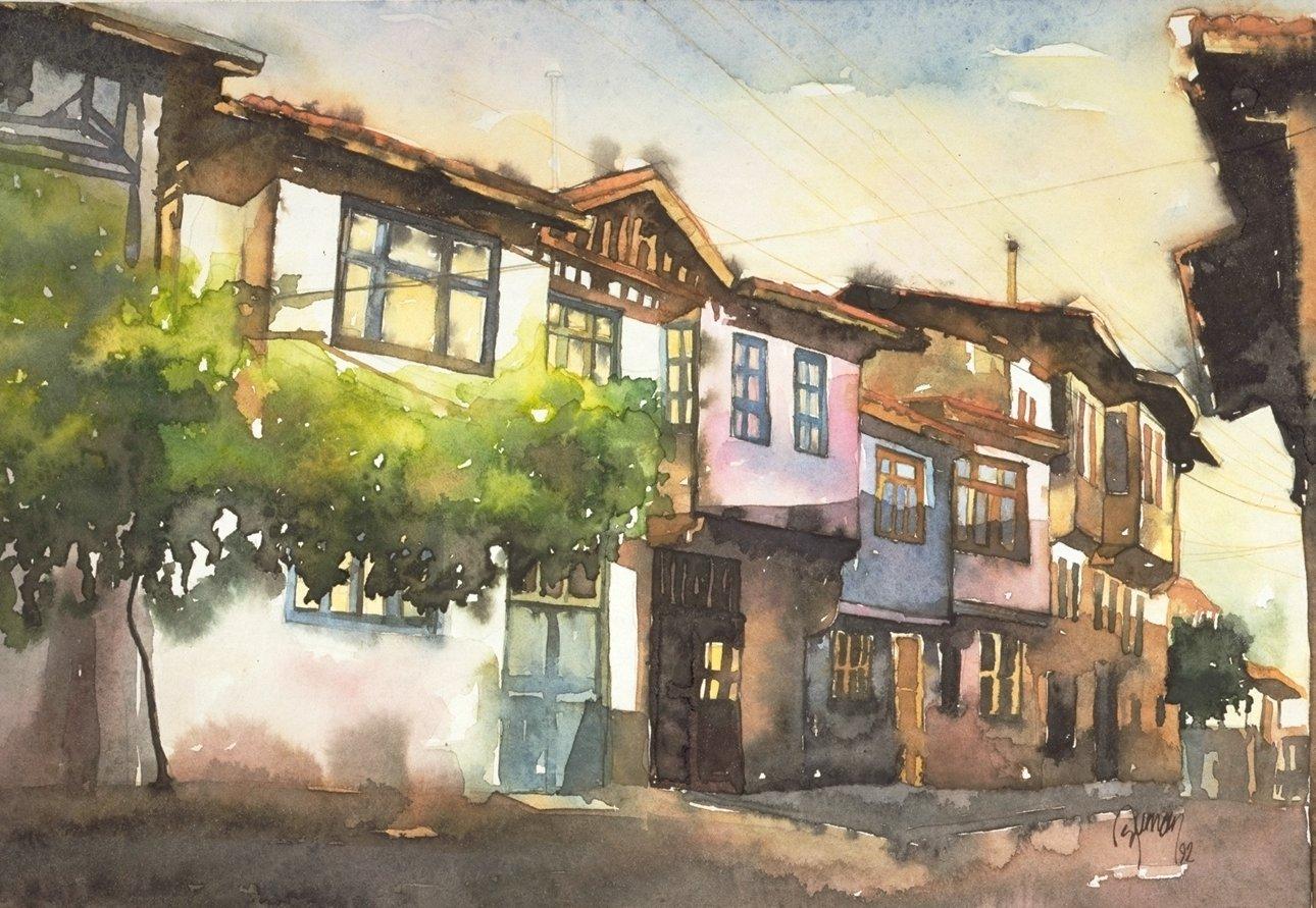 A street scene from Zile
