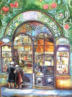 Shop in Barselona