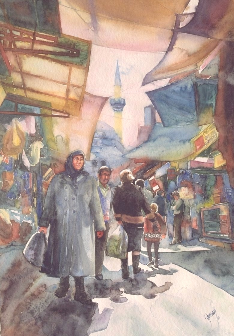 Market place in Izmir