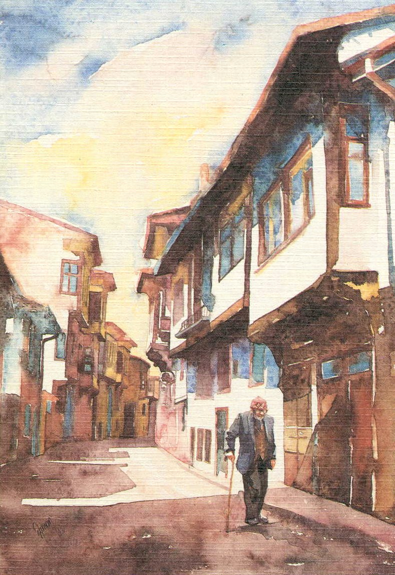 Old man in Kutahya street