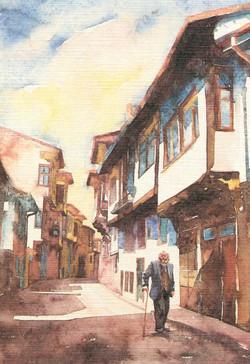 Old man in Kutahya street