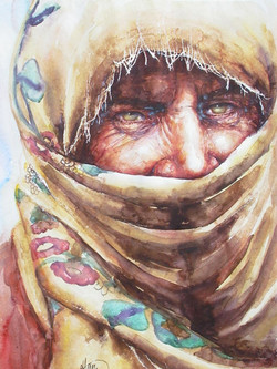 Woman and Turban
