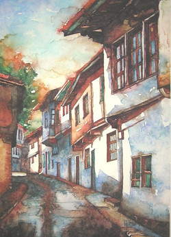 A street in Zile