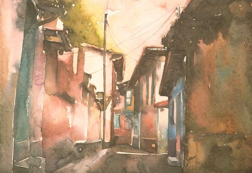 A street scene from  Kula