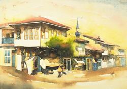 Street scene in Afyon