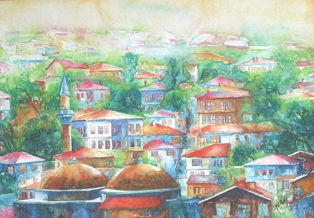 View from Safranbolu