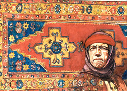 Carpet and Woman