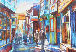 Cingoz Street in Izmir
