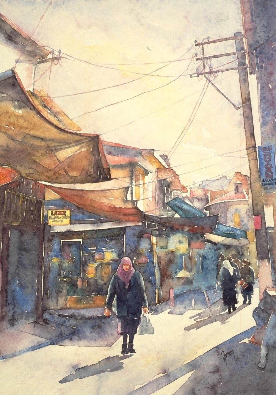 A street in Izmir