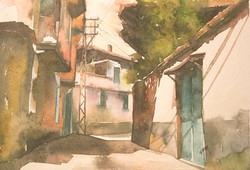 Kula Street scene