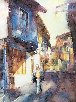 A man at Street in Afyon