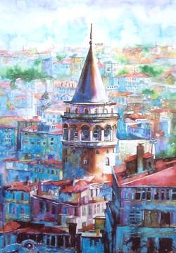 Galata Towell in Istanbul