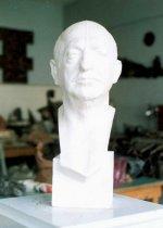tn_Prof. Y.SAMI GOKGOZ  Bust.  60x25x23 cm 1987