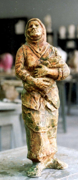 Mother and child  60x10x07 cm 1985
