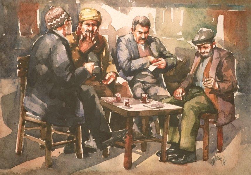 Odemis cafe scene