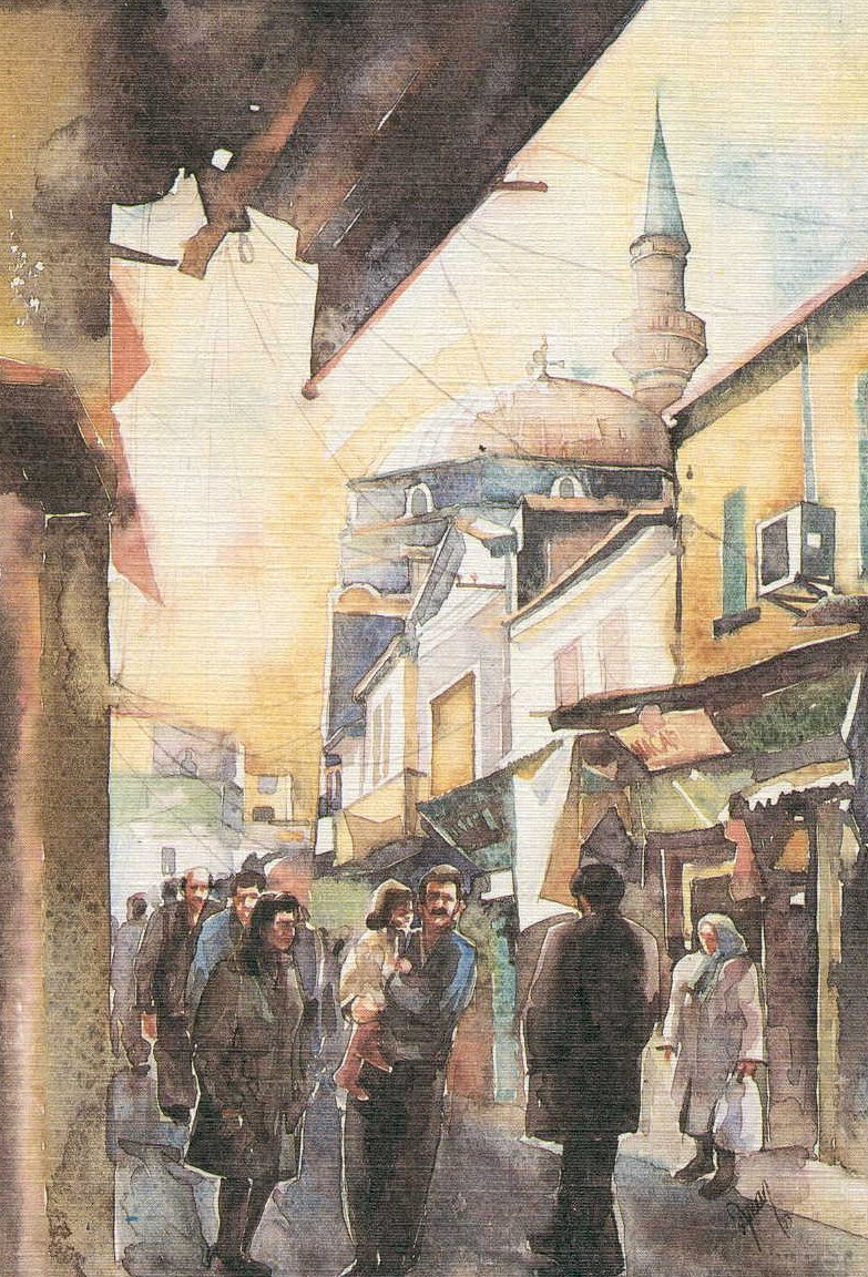 Izmir, Kemeralti market street