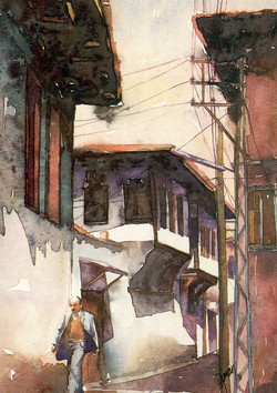 A man at street in Kula