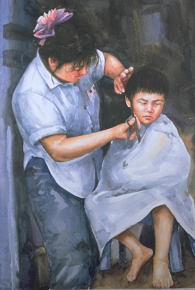 Barber mother