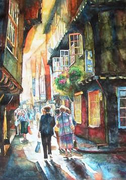 a street in York, England