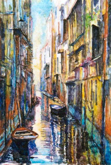 Venice narrow Canal