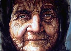 Atanur Dogan-Wrinkles 50x70cm