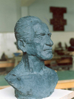 Atanur's Father. 53x40x20 cm
