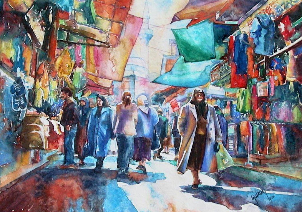 Market street Kemeralti