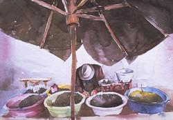 Olives seller