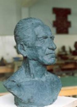 tn_Atanur's Father. 53x40x20 cm