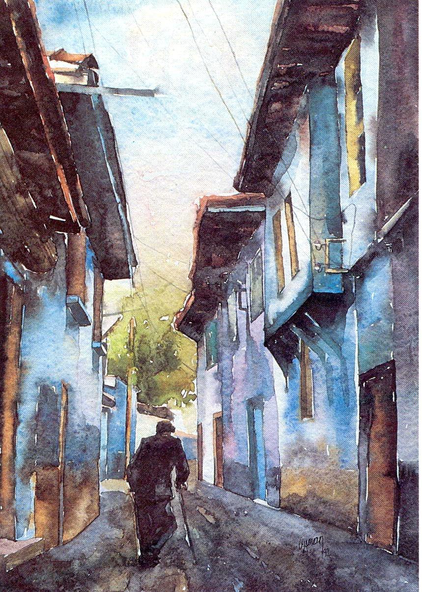 A man in Kula street