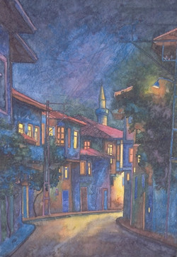 The street at night Zile