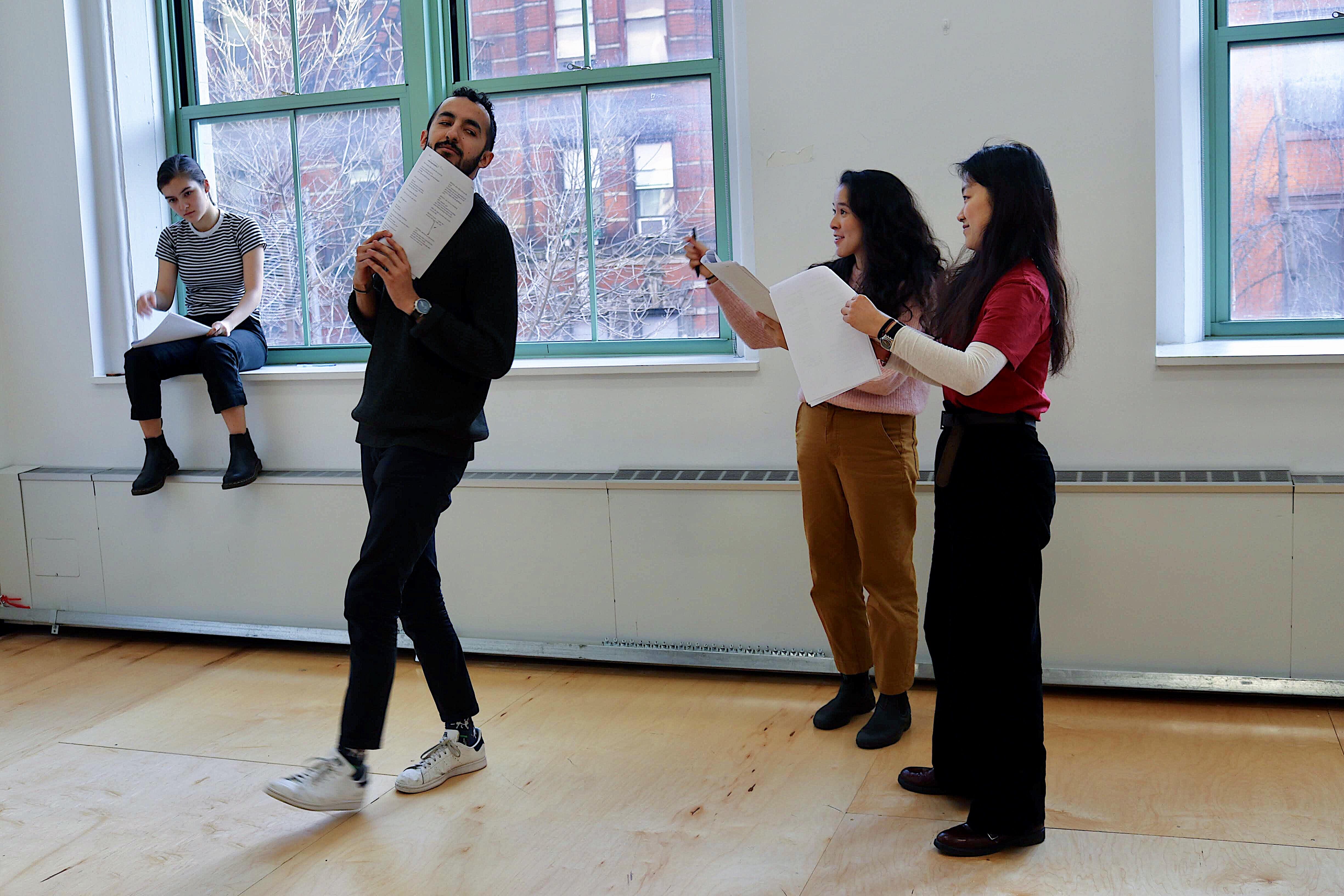Francisco Alvidrez, Sophie Gorai, Jojo Guo